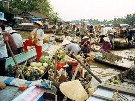 Mekong Delta 3 days tour (My Tho – Ben Tre – Can  Tho – Cai Rang – Chau Doc)